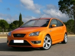 1 Liter BC (spritzfertig) FOCUS ST ORANGE (Electric Orange)